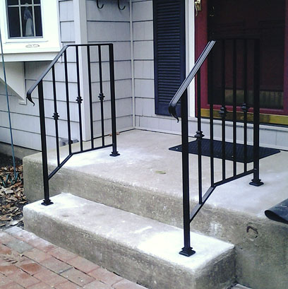 Wrought Iron Railings Amp Pipe Railing South Jersey Custom