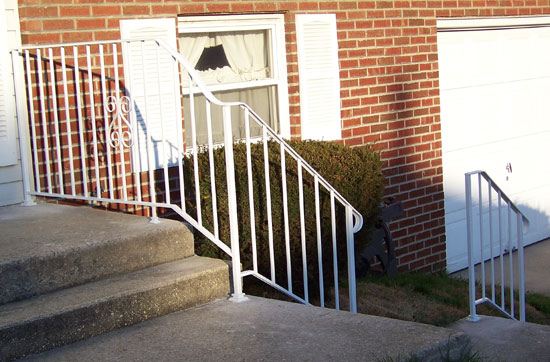 Wrought Iron Railings & Pipe Railing - South Jersey Custom Hand ...