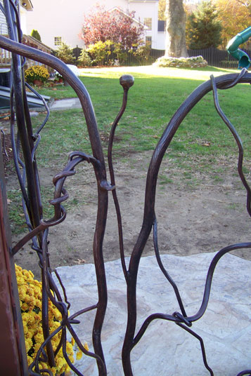 Wrought Iron Gates South Jersey Custom Hand Crafted