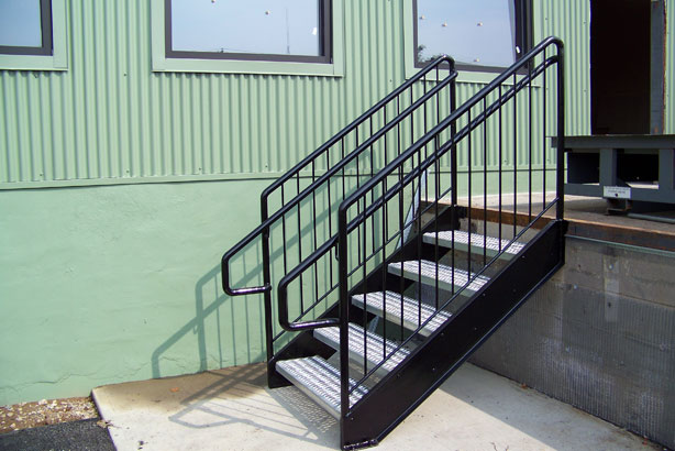 Delicieux Industrial Pipe Railing