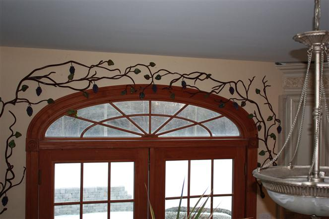 Wrought Iron Vine